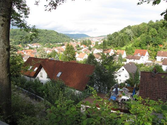 Annweiler am Trifels, Tyskland: view from the terrace