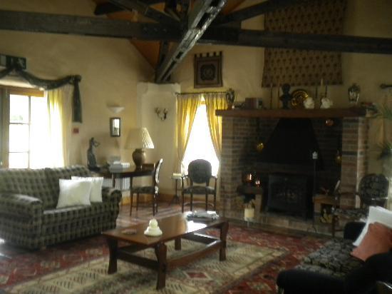 The Courtyard: Brendan's favorite room