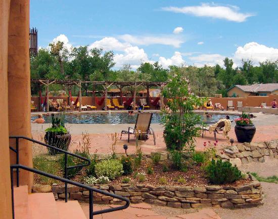Ojo Caliente Mineral Springs Spa: The Main Pool