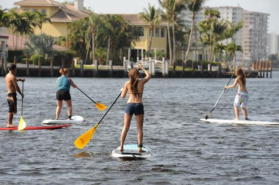 Surf World Surf Shop: Group and Private Lessons Stand Up Paddle Lessons