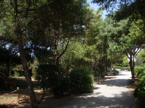 Veraclub Minorca: la passeggiata verso la spiaggia