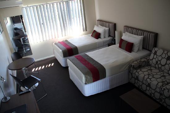 Tropixx Motel & Restaurant: Twin Room