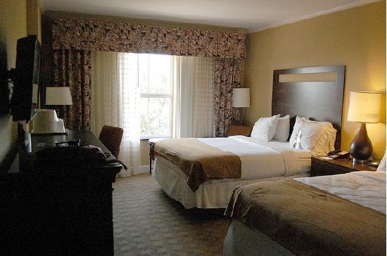 Holiday Inn Express Savannah-Historic District: Sleeping Area