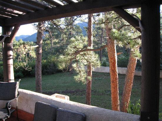 Adobe Inn at Cascade: View from Moonlight Suite deck