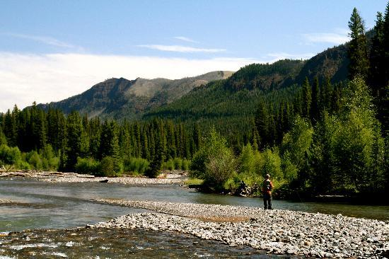 Margo's Mountain Suite: River in Montana