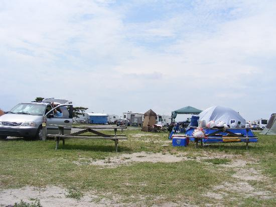 Delaware Seas State Park Cramped