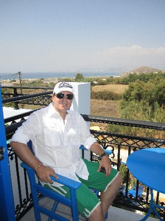 Hotel Villa Adriana: Balcony view