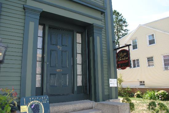 Lizzie Borden House: The front door