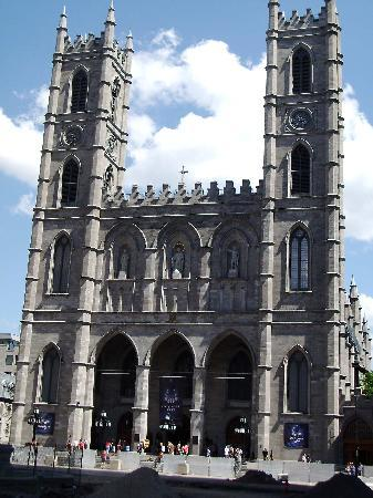 Montreal, Kanada: Notre Dame - prettiest church in North America