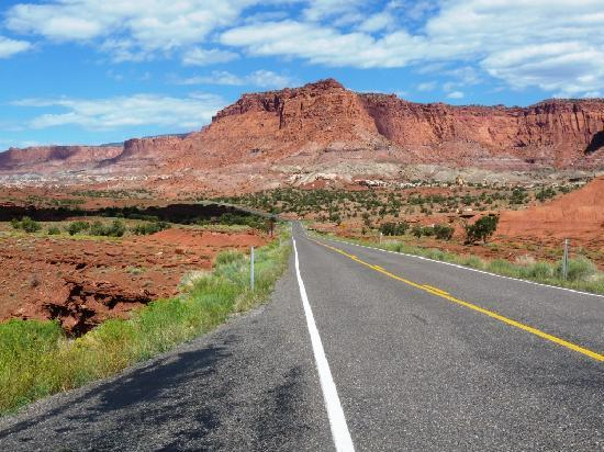 Torrey Pines Bed & Breakfast Inn: En route pour Capitol Reef
