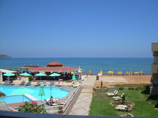 Stalos, Greece: udsigt værelse 16 gl. del
