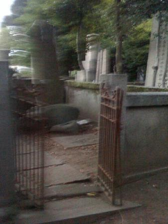 Haunted Tokyo Tours: Grave in Yanaka