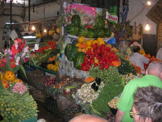 Tanger, Marokko: Farbenpracht