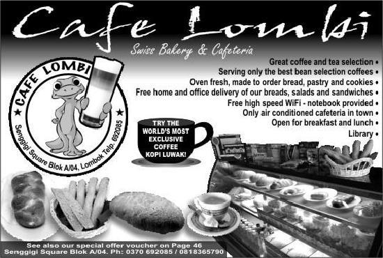 advertisment - Picture of Cafe Lombi, Swiss Bakery & Cafeteria ...