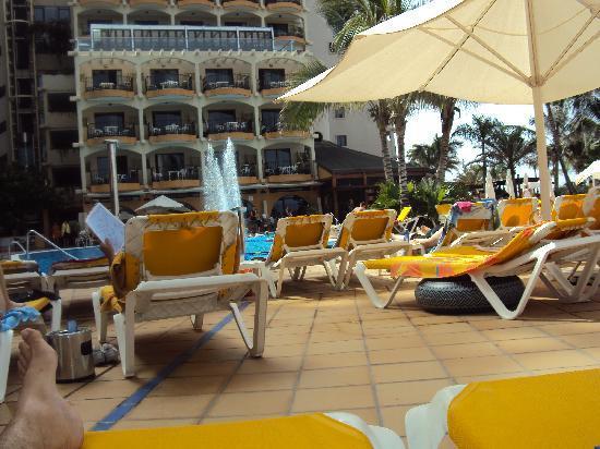 Bull Dorado Beach & Spa: TERRAZA PISCINA