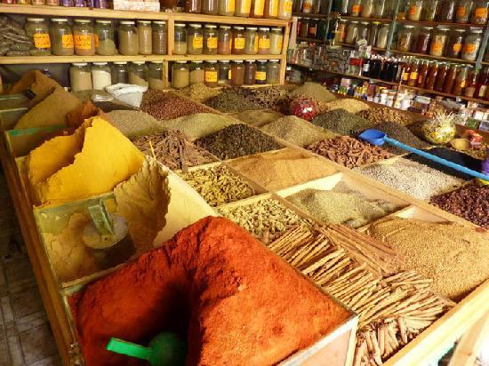 Medina of Tangier : Market scenery