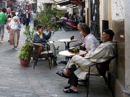 Medina of Tangier : Center of the Medina