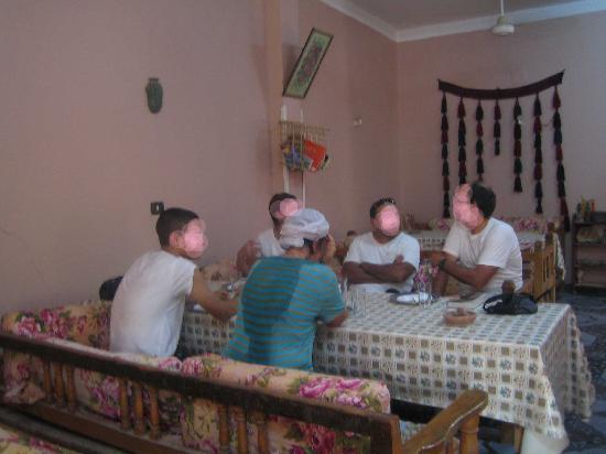 Restaurant Mohammed : Comedor en el interior