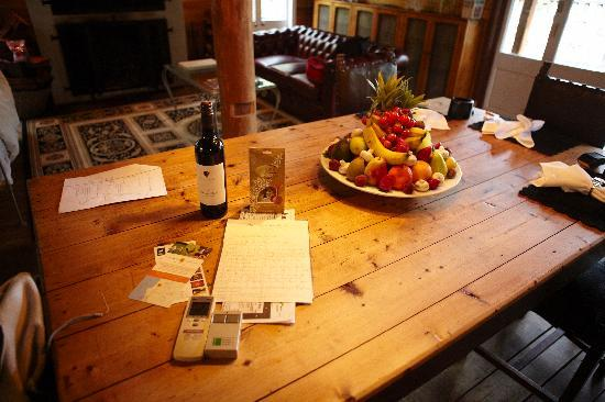 La Foret Enchantee: Welcome note and gifts from the owner