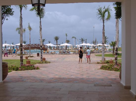 Iberostar Saidia : piscina mas pequeña