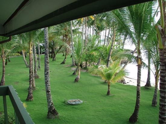 Truk Blue Lagoon Resort: view from my balcony
