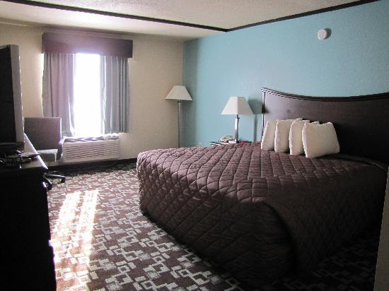 Super 8 Daleville/Roanoke: Our room