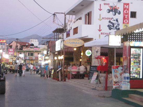 SENTIDO Blue Sea Beach : Little town nearby to walk into