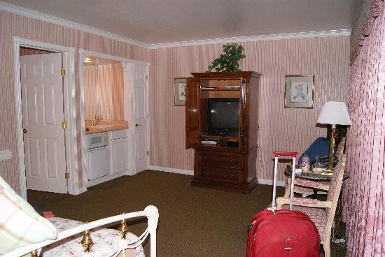 Carmel Inn & Suites: Salon de la habitación