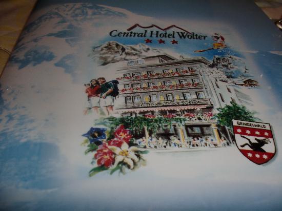 Central Hotel Wolter: la carte des dessert