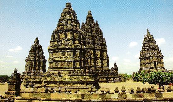 Yogyakarta, Indonesien: Hindu Weltkulturerbetempel Prambanan