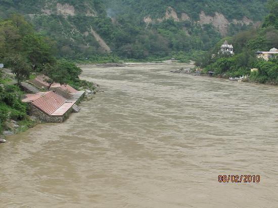 Hotel Great Ganga: Ganges Rishikesh - Monsoon Time
