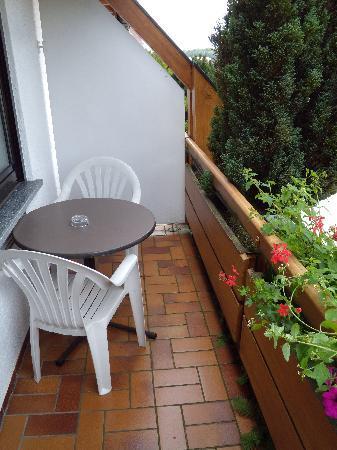 Ringhotel Krone Schnetzenhausen: Balkon
