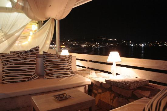 Creta, Grécia: Terrasse d'un café