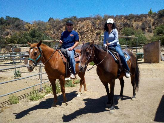 Western Trail Rides: Cowboy and Cowgirl in the making