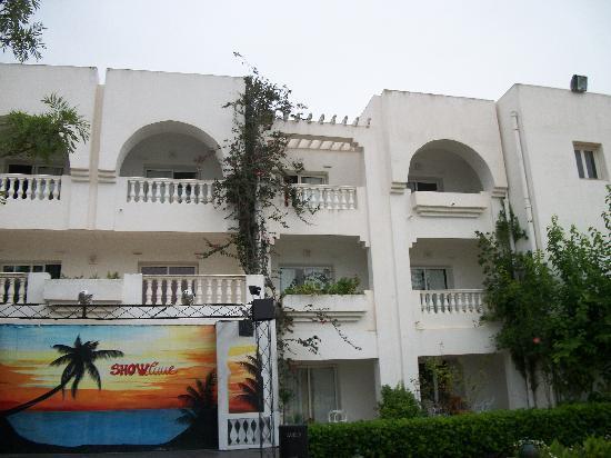 Dar Zakarya: notre chambre (2e etage et 3e en partant de la gauche..la meilleure vue)