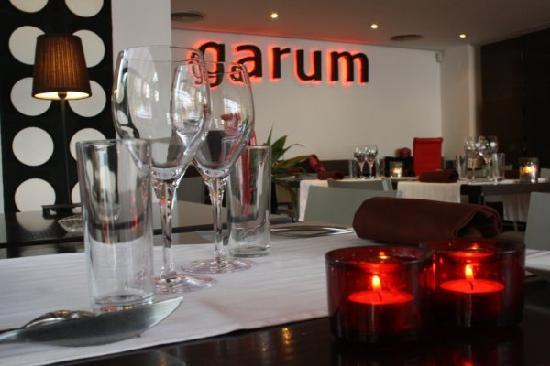 Restaurante Garum: restaurant inside