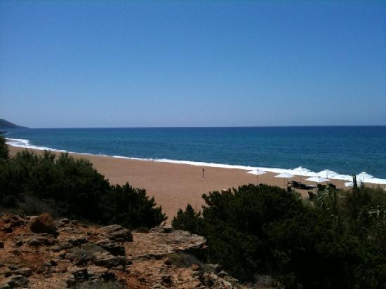 The Westin Resort Costa Navarino: une plage de sable très propre