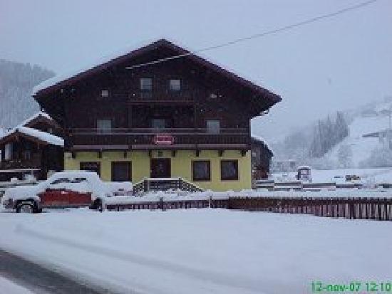 Pension Penhab: Penhab in the winter