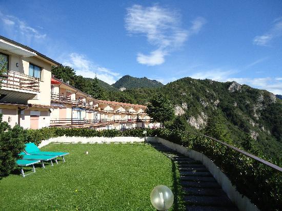 Tremosine, Italien: une partie de l'hotel