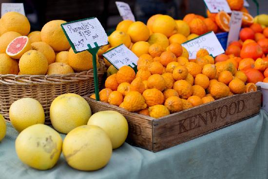 San Luis Obispo, CA: Farmers' Market every Thursday
