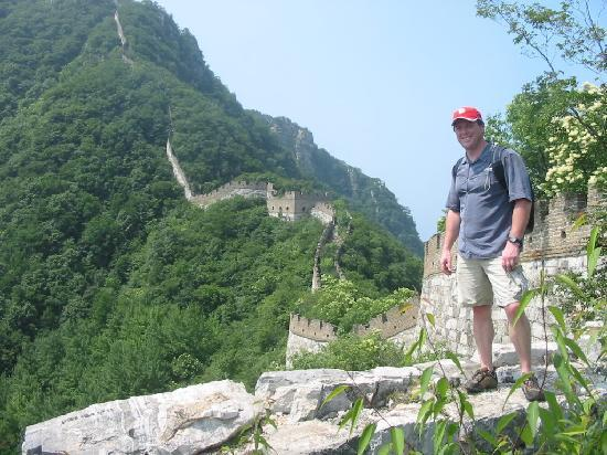 The Great Wall Hike (James Private Tour) : Upon reaching the wall