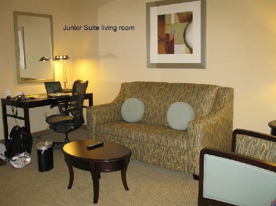 Hilton Garden Inn South Padre Island: Room Pic 2, Living Room
