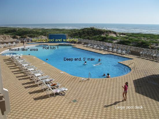 Hilton Garden Inn South Padre Island: Pool Pic 1