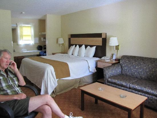 Best Western Mountainbrook Inn: our room