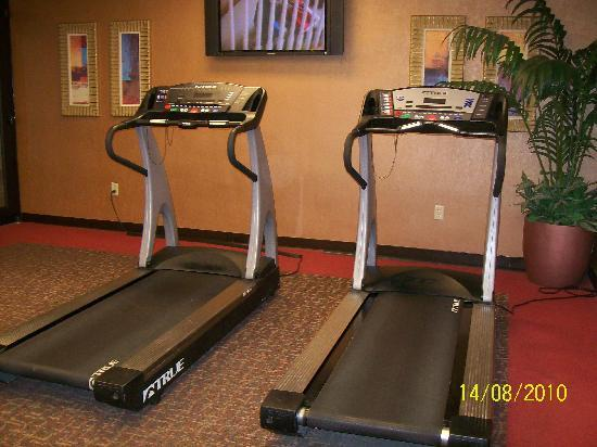 University Plaza Hotel and Convention Center: Fitness Room!