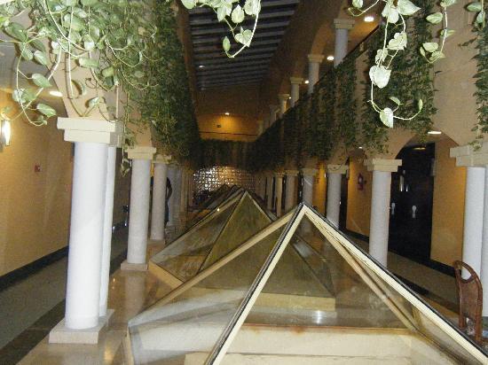 Hotel ATH Roquetas de Mar: el hall de la 1º planta