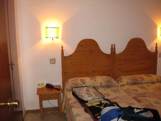 Xon's Platja Hotel: Dormitorio