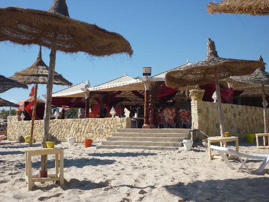 Hotel Abou Sofiane: Beach Bar