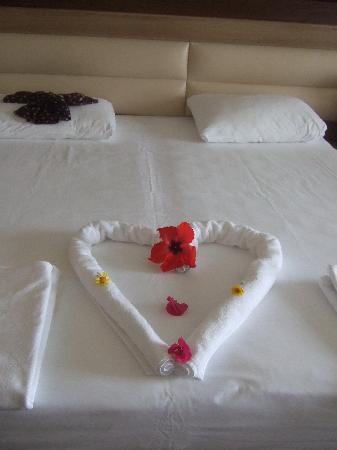 Sueno Hotels Beach Side: merci à la femme de chambre on lui a laisser un bon pourboir