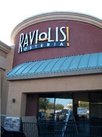 Raviolis Osteria : Ravioli's Osteria just before opening